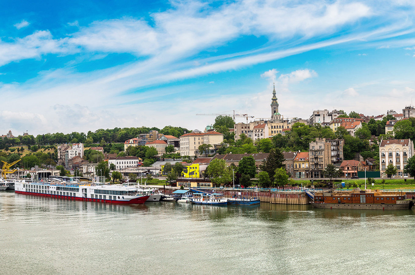 Sava River Belgrade