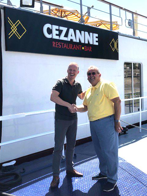roderik van veelen at the Cezanne